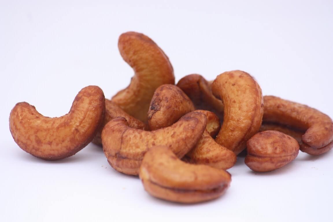 Noix de cajou nature roties et assaisonnées au tamari, sauce soja bio